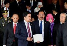 Gubernur hadiri pidato kenegaraan dan Urus percepatan KEK