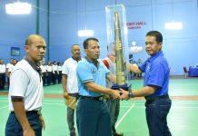 Laksamana Eko Buka Kejuaran Bulutangkis Danlatamal IV Cup 2017