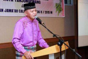 Wakil Walikota Tanjungpinang Syahrul dalam sebuah acara di Tanjungpinang