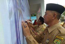 Wakil Walikota Syahrul saat resmikan Kampung KB di Kelurahan Kampung Bulang Bawah, Tanjungpinang