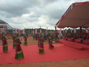 Tarian persembahan dalam acara pembukaan IDBR Tanjungpinang