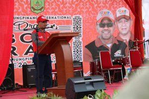 Sekdaprov Kepri TS. Arif Fadilla saat membuka acara IDBR di Sei Carang