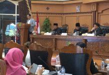 Rapat penyampaian pandangan umum fraksi-fraksi tentang nota keuangan perubahan APBD Kota Tanjungpinang tahun anggaran 2017