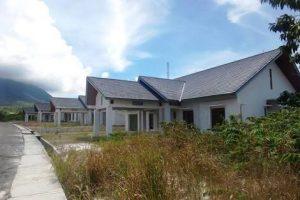 Inilah Rumah Dinas Anggota DPRD Natuna, yang masih banyak kosong