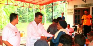 Bupati Bintan Apri Sujadi dalam kunjungan kerja ke beberapa daerah diwilayah kab Bintan