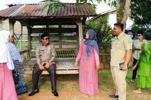 Bupati Apri saat lawatan kerja ke berbagai desa di Bintan