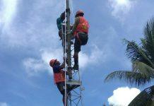 Pembangunan Tower Telekomunikasi di Natuna (2)