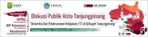 Diskusi publik menyoal pelaksanaan FTZ Tanjungpinang