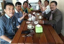 Para Pemred Media Cetak Mingguan dan Media Online, sebagai pendiri Forum Pemred Kepri