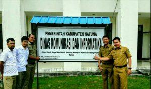 Kantor Dinas Kominfo Natuna
