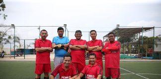 Skuad Tim Futsal Kepala OPD Kota Tanjungpinang