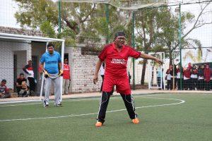 Sekdako Riono didapuk sebagai bek pertahanan Tim OPD Kota Tanjungpinang