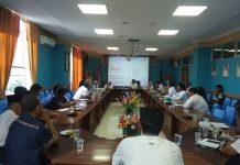 Rapat evaluasi dalam rangka mewujudkan Natuna Menjadi Kabupaten Sehat