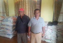 Bantuan Logistik untuk korban banjir dan tanah longsor
