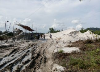 Inilah lokasi tambang timah Ilegal di Kabupaten Bintan, yang disoroti LSM P2KN