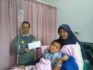 Kendri dan inbundanya di ruang rawat inap RS Casa Medikal Centre Batam