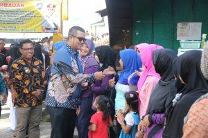 Bupati Apri bersilaturahmi dengan warga Numbing