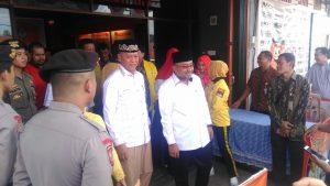 Syahrul dan Lis, usai penetapan sebagai peserta Pilkada Tanjungpinang