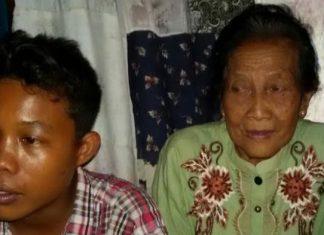 Selamat Riyad dan nenek Rohaya (ft.sripoku.com/leni juwita)