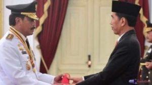 Pelantikan Nurdin Basirun sebagai Gubernur Kepri oleh Presiden Jokowi