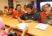 Wagub Kepri Isdianto saat peresmian Bank Sumut di Batam