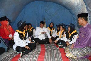 Wagub Kepri Isdianto menyapa peserta Jumbara