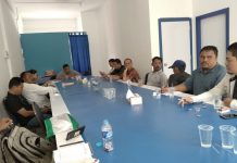 Pertemuan kontraktor kecil dan menengah di Kantor Gapensi Kepri
