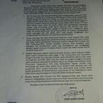 Surat Gubernur Kepri (ft: Batamtimes.co)