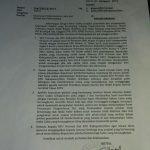 Surat edaran KPU RI