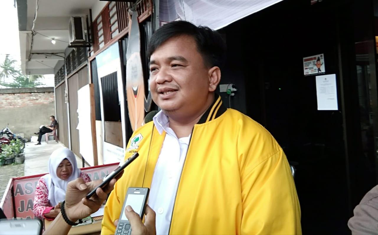 Ketua DPD II Golkar Tanjungpinang Ade Angga