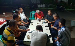 Andi Cori rapat bersama warga persiapan menyambut HUT RI, 17 Agustus 2018