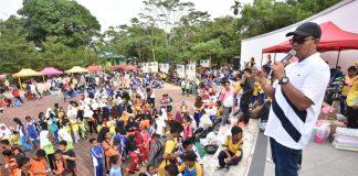 Bupati Apri saat kunjungan kerja di Kabupaten Bintan