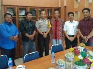 Kapolres Tanjungpinang saat audensi dengan pengurus RBB Tanjungpinang