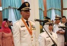 Pelamtikan Syahrul - Rahma sebagai Walikota dan Wakil Walikota Tanjungpinang