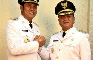 Bupati dan Wakil Bupati Bintan Apri Sujadi dan Dalmasri Syam