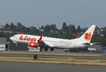 Pesawat Lion Air (ft: istimewa)