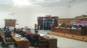 Sidang paripurna DPRD Tanjungpinang