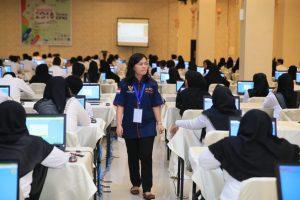 Peserta tes CPNS kota Tanjungpinang