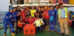 Tim gabungan pencarian penumpang pesawat Lion Air (ft:la)