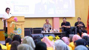 Pimpinan KPK saat menyampaikan materi kuliah umum