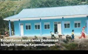 Gedung sekolah setelah renovasi