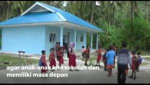 Sekolah yang sudah direnovasi