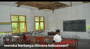 Ruang belajar sebelum renovasi
