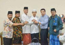 momen silaturahmi damai di kediaman Walikota Tanjungpinang
