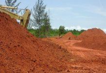 Aktivitas tambang di kabupaten Bintan