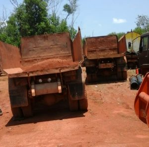 Aktivitas tambang di kabupaten Bintan, Kepri