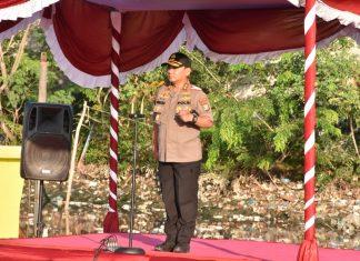 Kapolda Kepri Irjen Pol Andap Budhi Revianto, Sik memimpin Apel Hari Peduli Sampah Nasional (HPSN) Tahun 2019