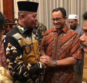 Syahrul bersama Gubernur DKI