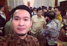 Andy dalam kegiatan Capres Prabowo Subianto