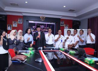 Rapat Kerja (Raker) Pengembangan Kota Layak Anak, di Ruang Rapat Kantor Bappelitbang Kota Tanjungpinang, Rabu (20/3).